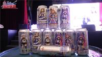 《装甲联盟》青岛啤酒定制酒瓶跨次元live上演首秀