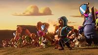 《部落冲突》部落战三周年 全新趣味宣传片发布