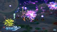 跨年狂欢夜!《梦想世界3D》新年倒数烟花满天